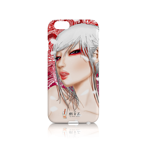Star Showroom iPhone phone case. Image of Akane from m ū z by mark muñoz - $32.50