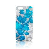 Star Showroom iPhone phone case. Blue Floral Design - $32.50