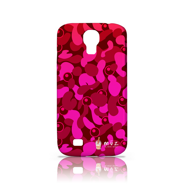 Bubble Tea Camo Phone Case