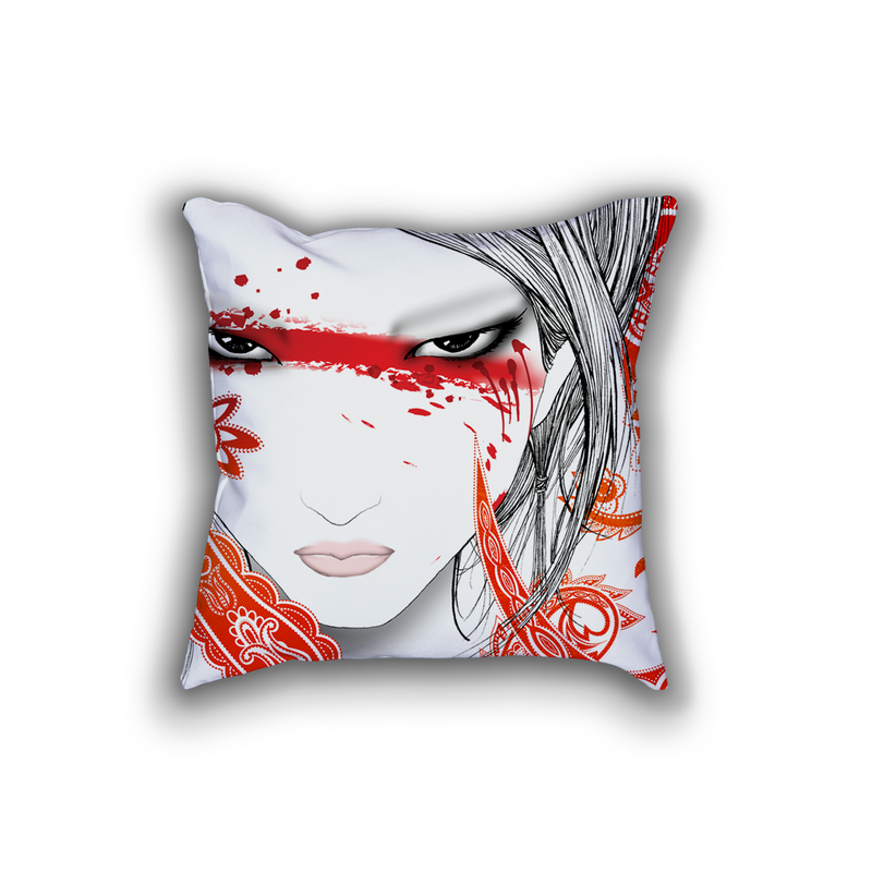 M Throw Pillow