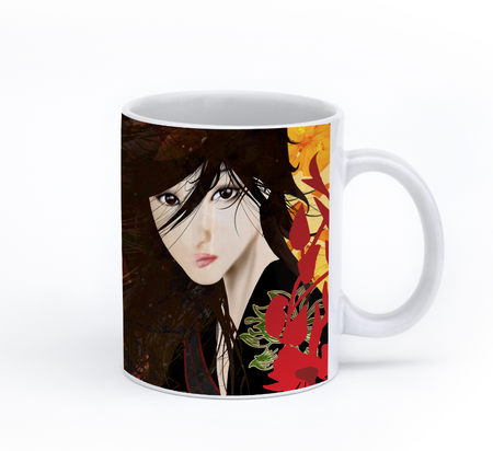 Chibi Collage Coffee Mug