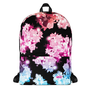 "m ū z ""Jade"" Floral backpack"