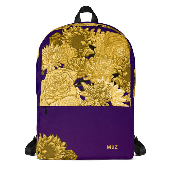 Sharpie Flowers Backpack