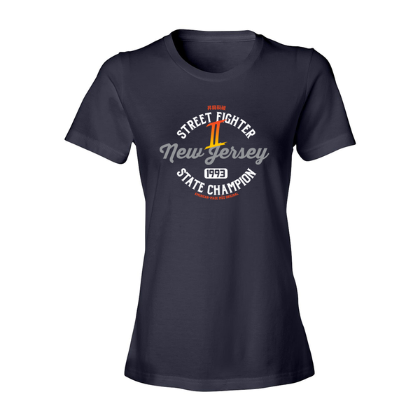 Street Fighter 2 NJ State Champ Tee (Women's)