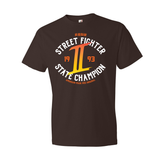 Street Fighter 2 State Champion Crew Neck Tee (Men's)
