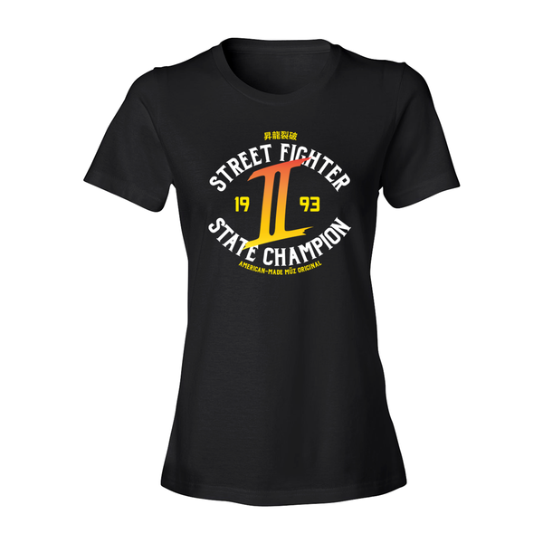 Street Fighter 2 Champion Tee (Women's)
