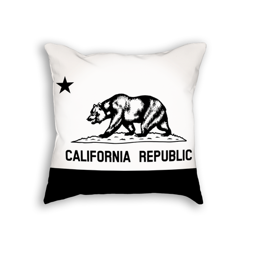 California Flag Pillow Cushion