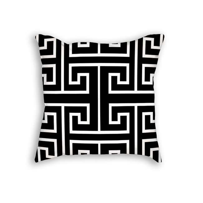 Chinese Key Throw Pillow