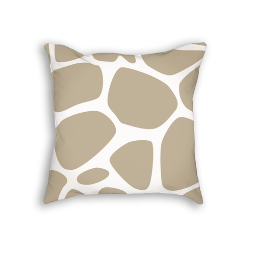 Giraffe Pattern Pillow Cushion
