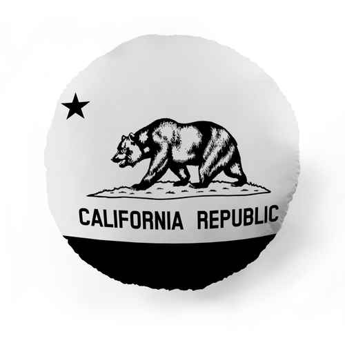 California Flag Pet Pillow