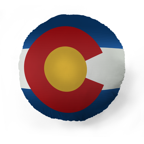 Colorado Flag Pet Pillow