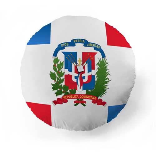 Dominican Republic Flag Pet Pillow
