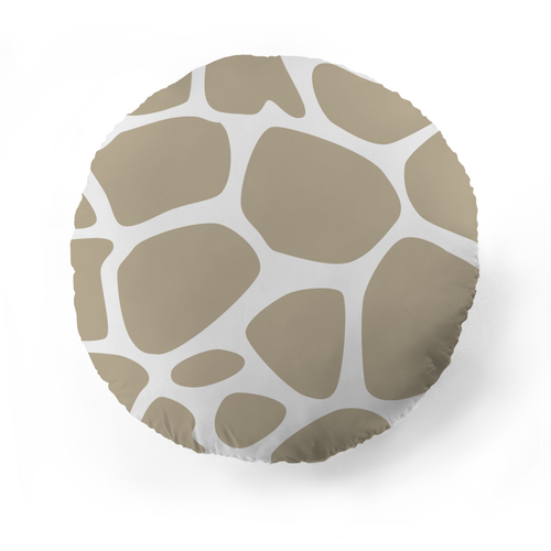 Giraffe Pattern Pet Pillow