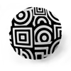 Squares + Circles Pattern Pet Pillow
