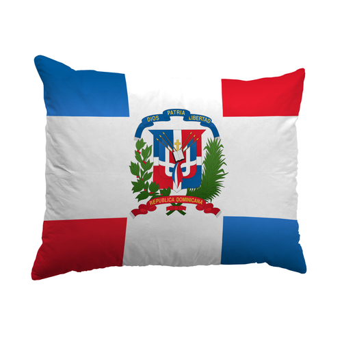 Dominican Republic Flag Pillows