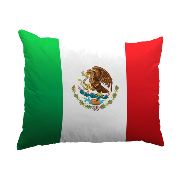 Mexico Flag Pillows