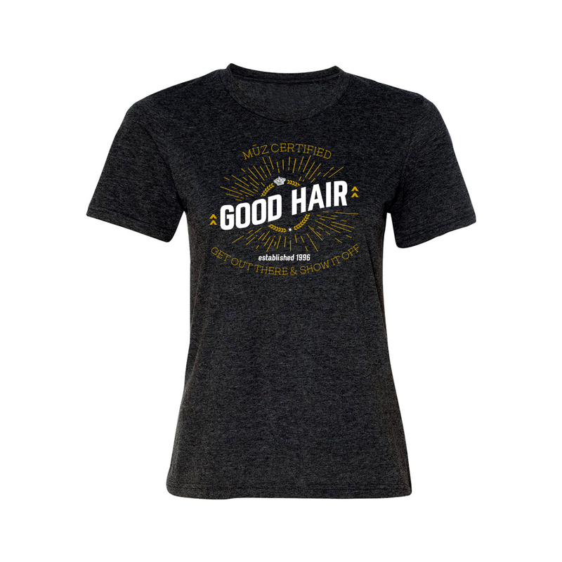 Certified Good Hair Fashion Fit Crew Neck Tee (Women's)