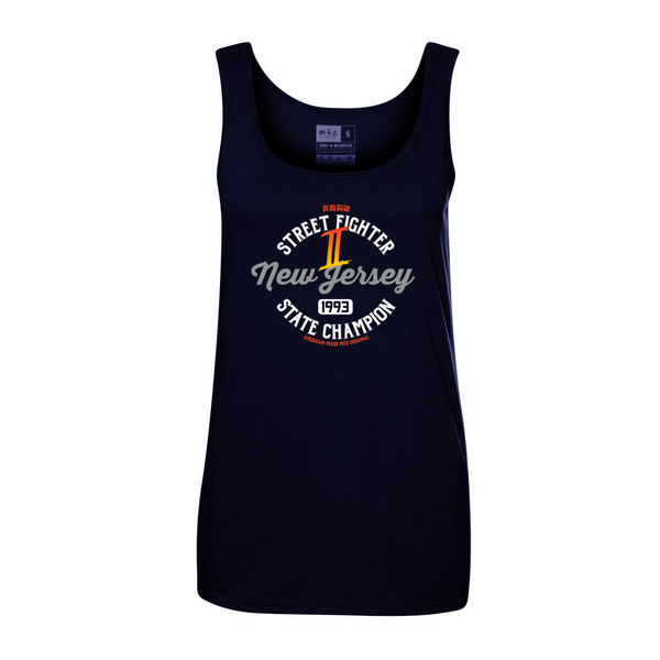 Street Fighter 2 NJ State Champ Tank (Women's)
