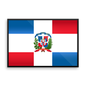 Dominican Republic Flag Wall Art
