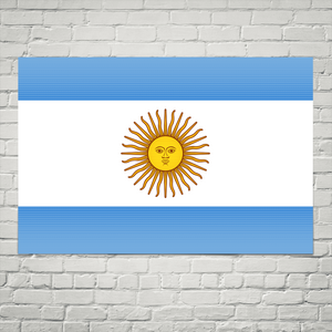 Argentina Flag Wall Art