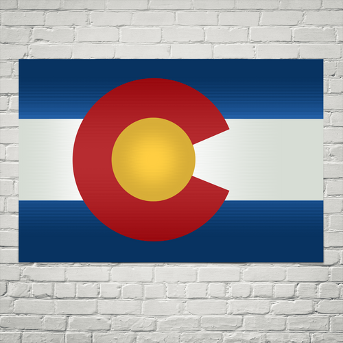Colorado Flag Wall Art