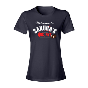 Welcome To Sakura's Fashion Fit Crew Neck Tee (Women's)