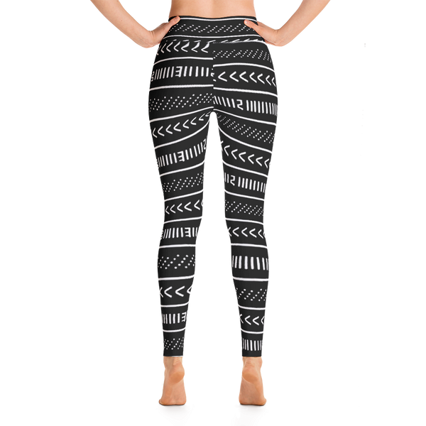 Mud Cloth Pattern Leggings