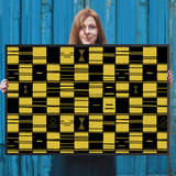 Kente Pattern Wall Art