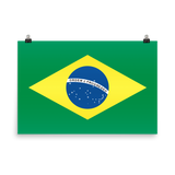Brazil Flag Wall Art