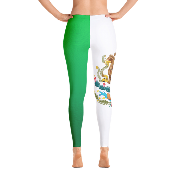 Mexico Flag Leggings