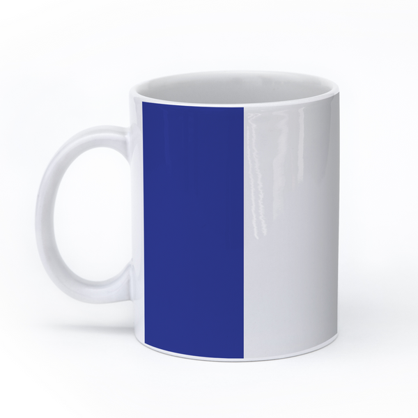graphic image of the flag of France on a coffee mug  presented by Star Showroom