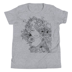 "m ū z girl ""Jade"" Fashion Fit Crew Neck Tee (Girls)"