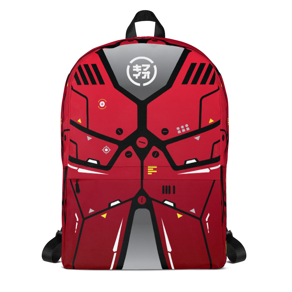 "m ū z QīFō ""Red Flak"" backpack"