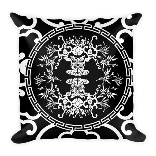 Medallion Pattern Throw Pillow