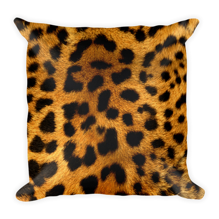 Tiger Pattern Pillow Cushion