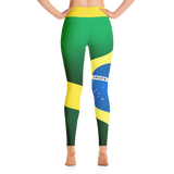 Brazil Flag Leggings