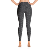 Fish Scale Pattern Leggings