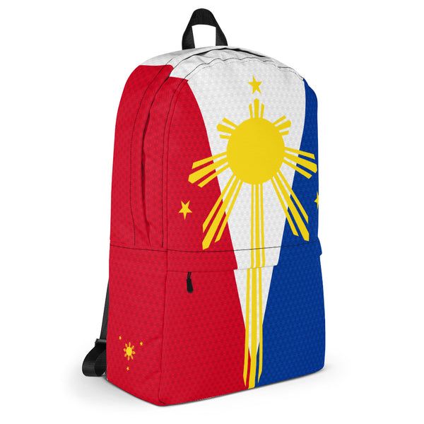 Philippines Flag Backpack