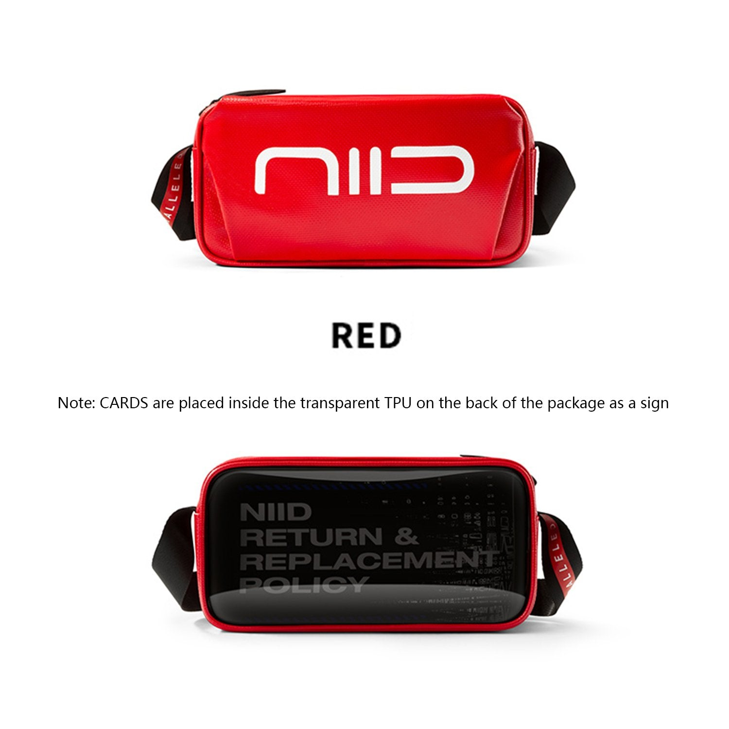 NIID Statements S1 Sling Bag Red
