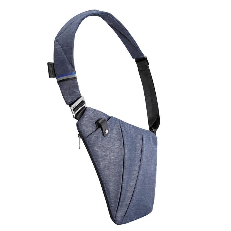 Classic Sling Crossbody Chest Bags - FINO Jazz Blue - NIID