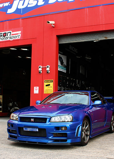 BC Racing Coilover Suspension Kit - Nissan Skyline R33/R34 GTR