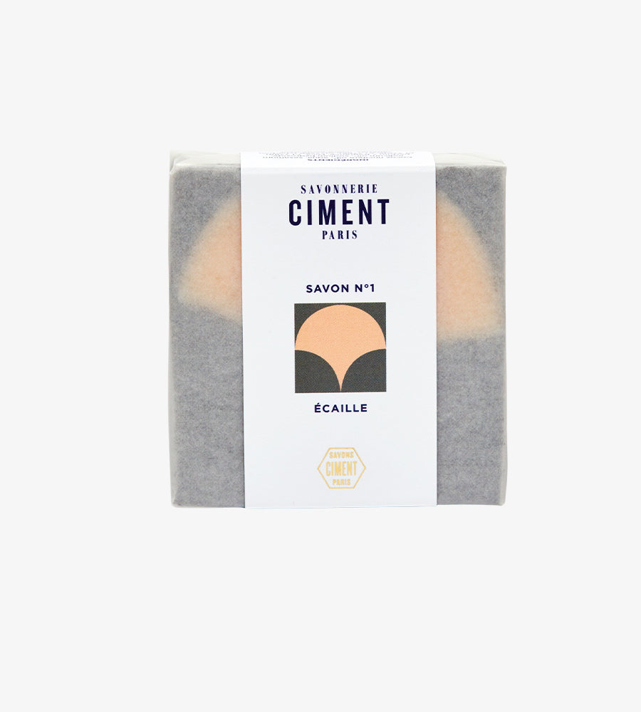 Savon Écaille Ciment Paris Packaging