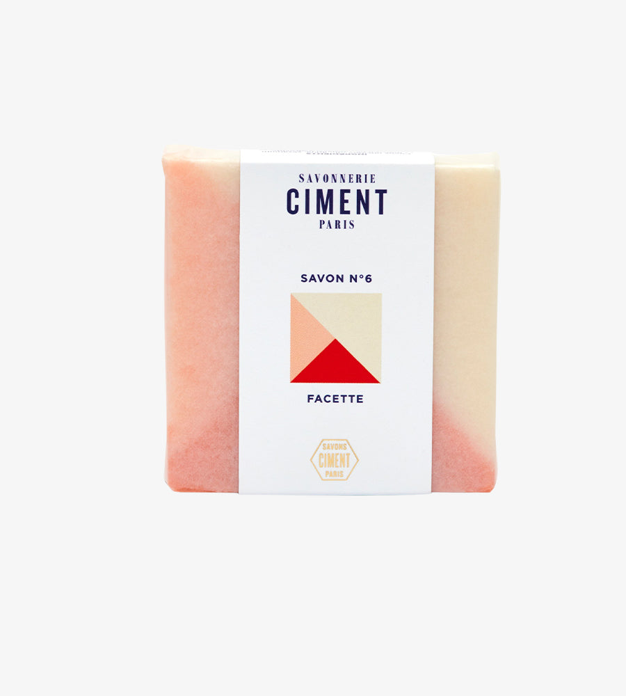 Savon Facette Ciment Paris Packaging