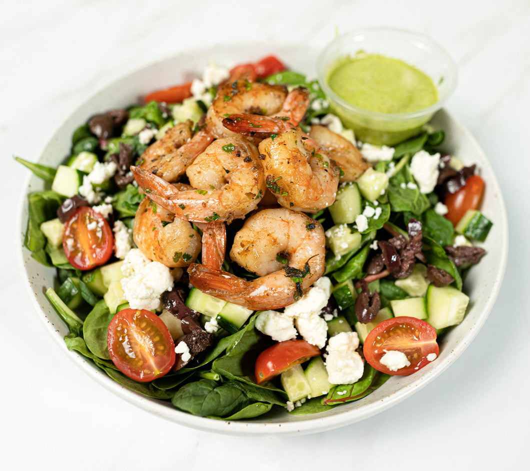 Greek Salad with Grilled Chicken Breast*