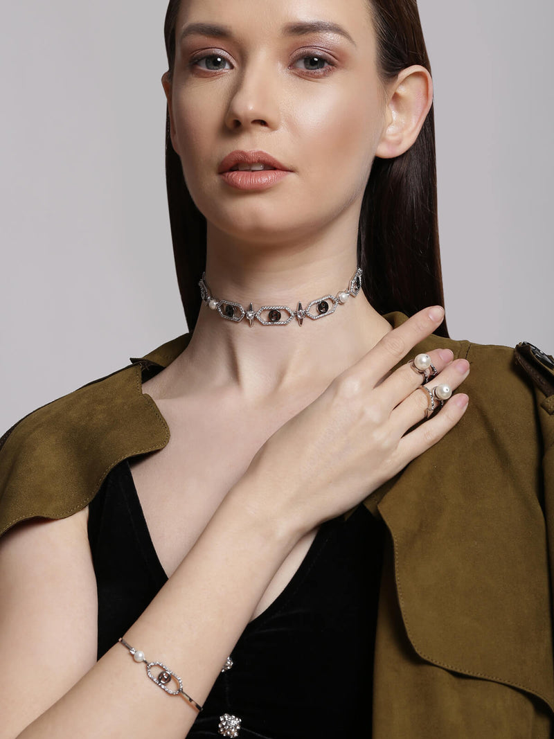 Designer choker necklaces for women