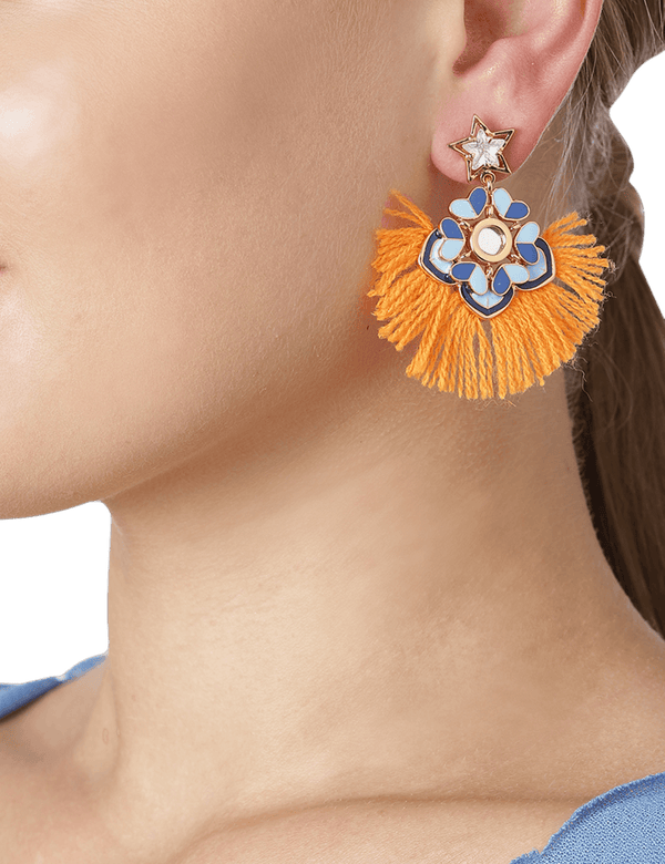 Citrus drop earrings online