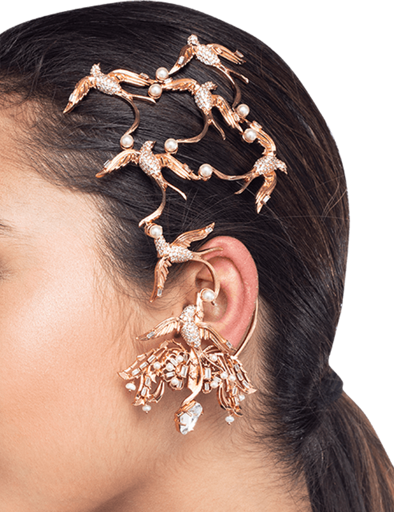 Designer Ear Cuff Earrings