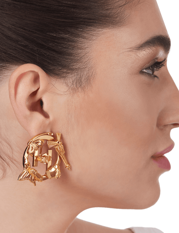 Designer Gold Studs Earrings.png