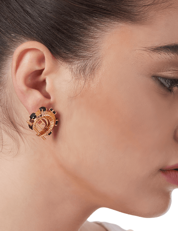 Earrings for women in gold