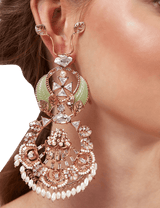 Earrings for women online rose gold